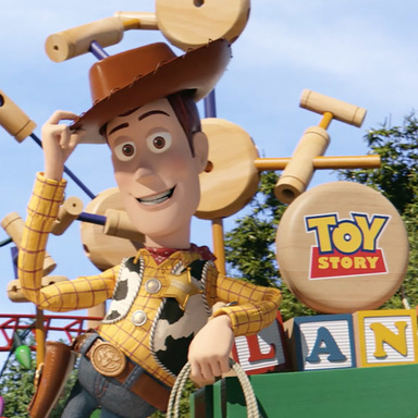 Toy Story Land #FollowTheBall