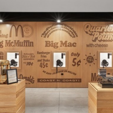 McDonald's: Environmental Graphics Transform an Office Complex into a Cultural Center
