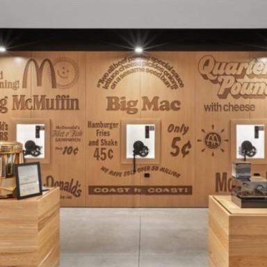 McDonald's: Environmental Graphics Transform an Office Complex into a Cultural Center
