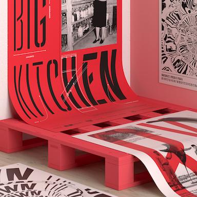 Big Kitchen – A Living Type Specimen