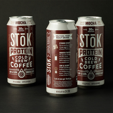 STōK Protein Cold Brew Coffee