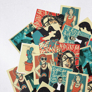 Women's History Month Postcards