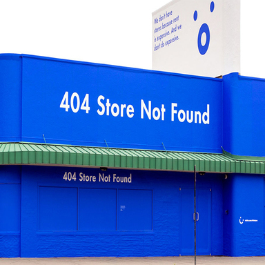 404 Store Not Found