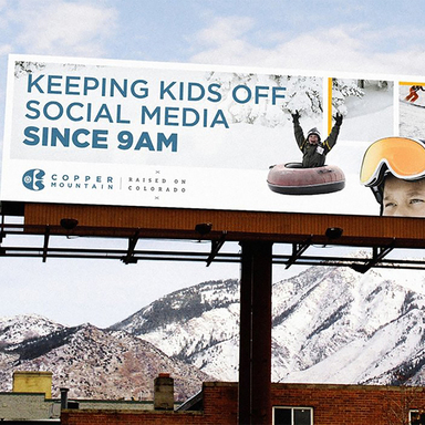 Copper Mountain Billboard