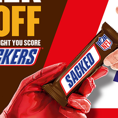 2018 Snickers NFL Hunger Handoff
