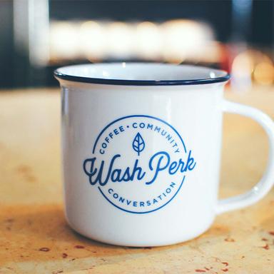 Wash Perk Brand Identity