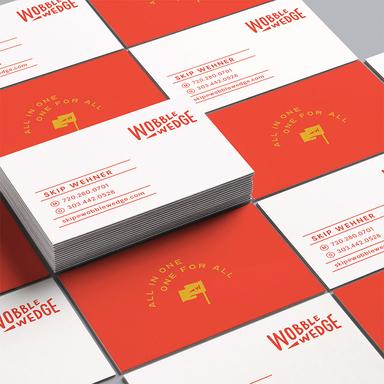 Wobble Wedge Brand Identity