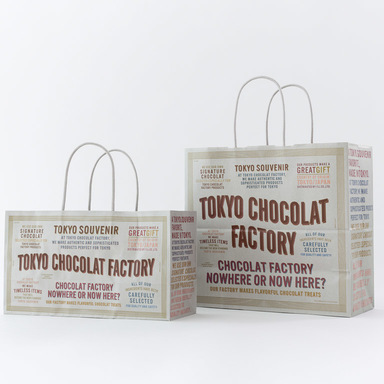 "Packaging of ""TOKYO CHOCOLAT FACTORY"""