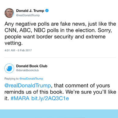 THE DONALD BOOK CLUB