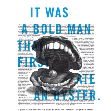Bold Man Outdoor Poster