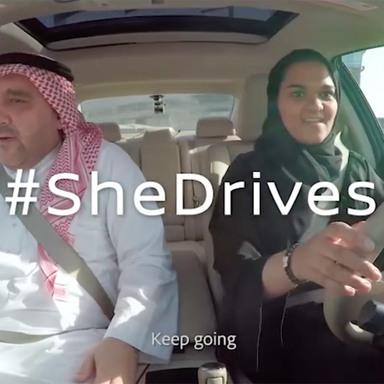 #SheDrives