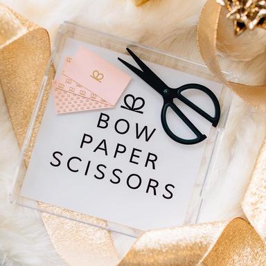 Bow Paper Scissors