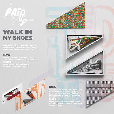 PairUp-Walk in my shoes