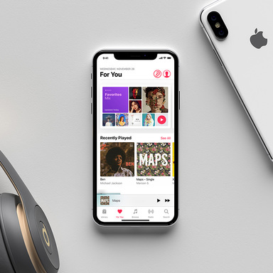 Apple Music Visualizer