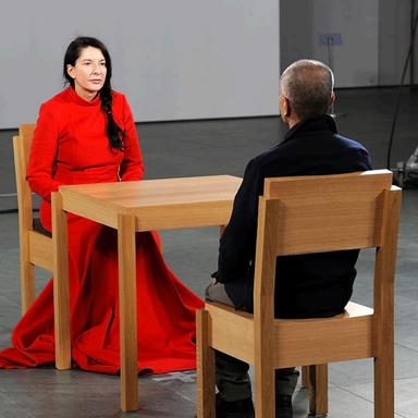Inspired by Marina Abramovic