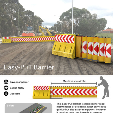 Easy-Pull Barrier