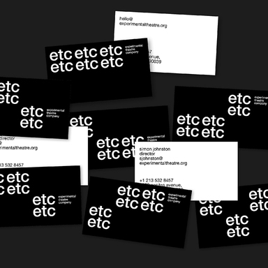 ETC | Experimental Theatre Company