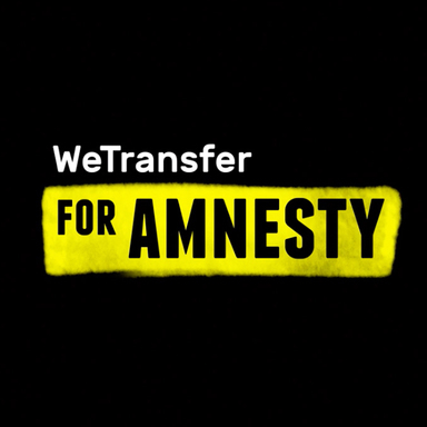 WeTransfer for Amnesty
