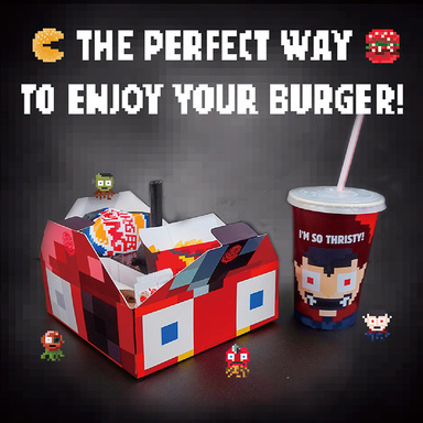 Pacman and the Burger Monsters