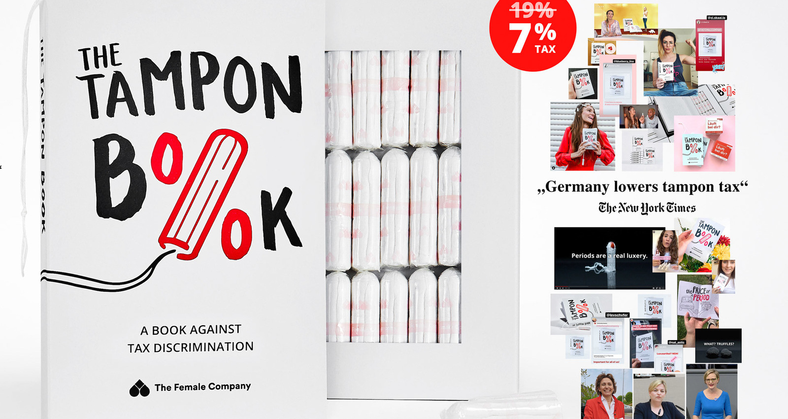 The Tampon Book: a book against tax discrimination