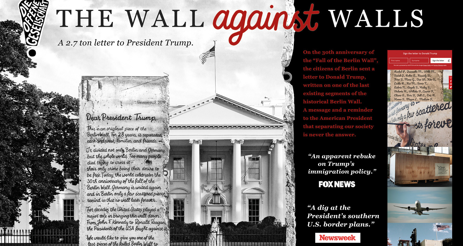 The Wall against Walls