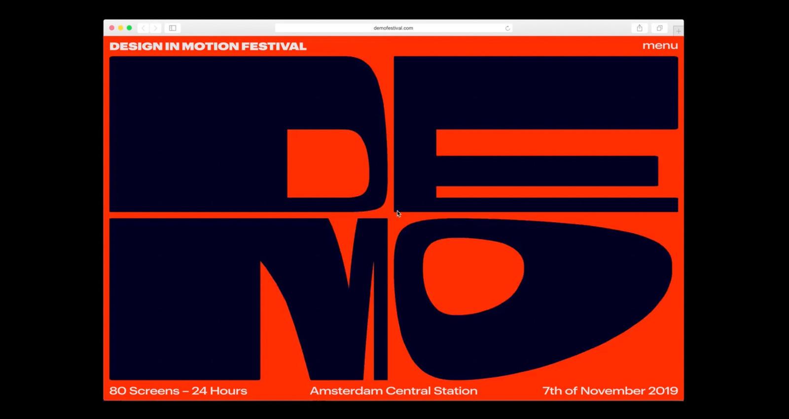 DEMO - Design in Motion Festival