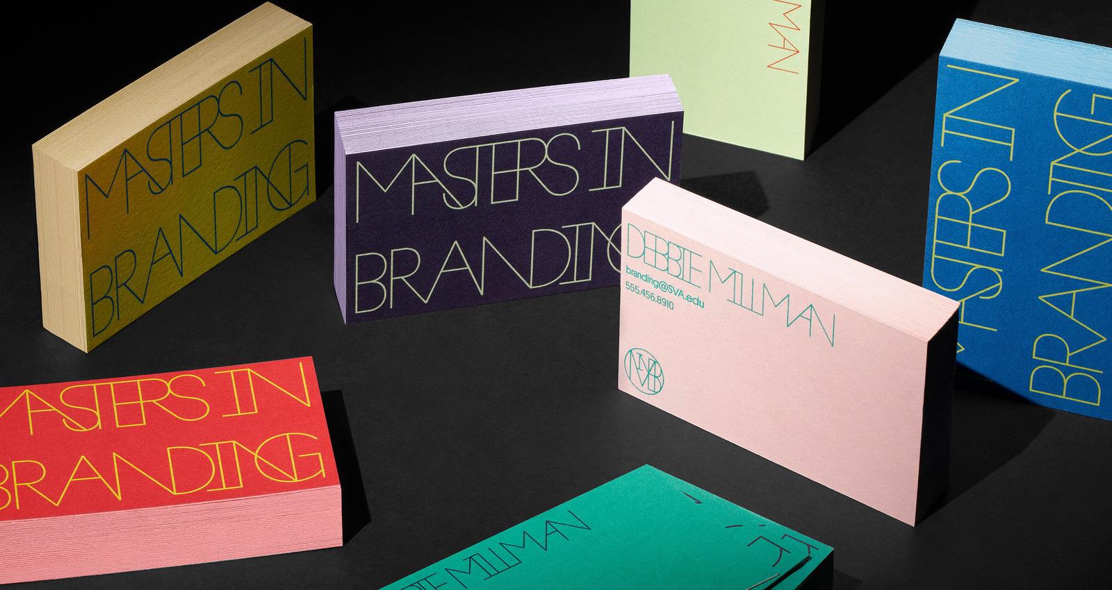 SVA Masters in Branding