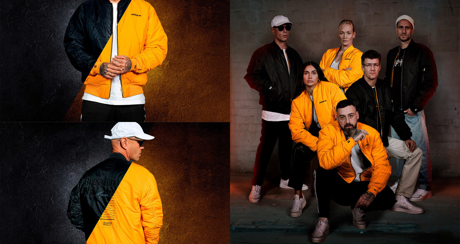 "The adidas Wendejacket ""Breaking Walls"""