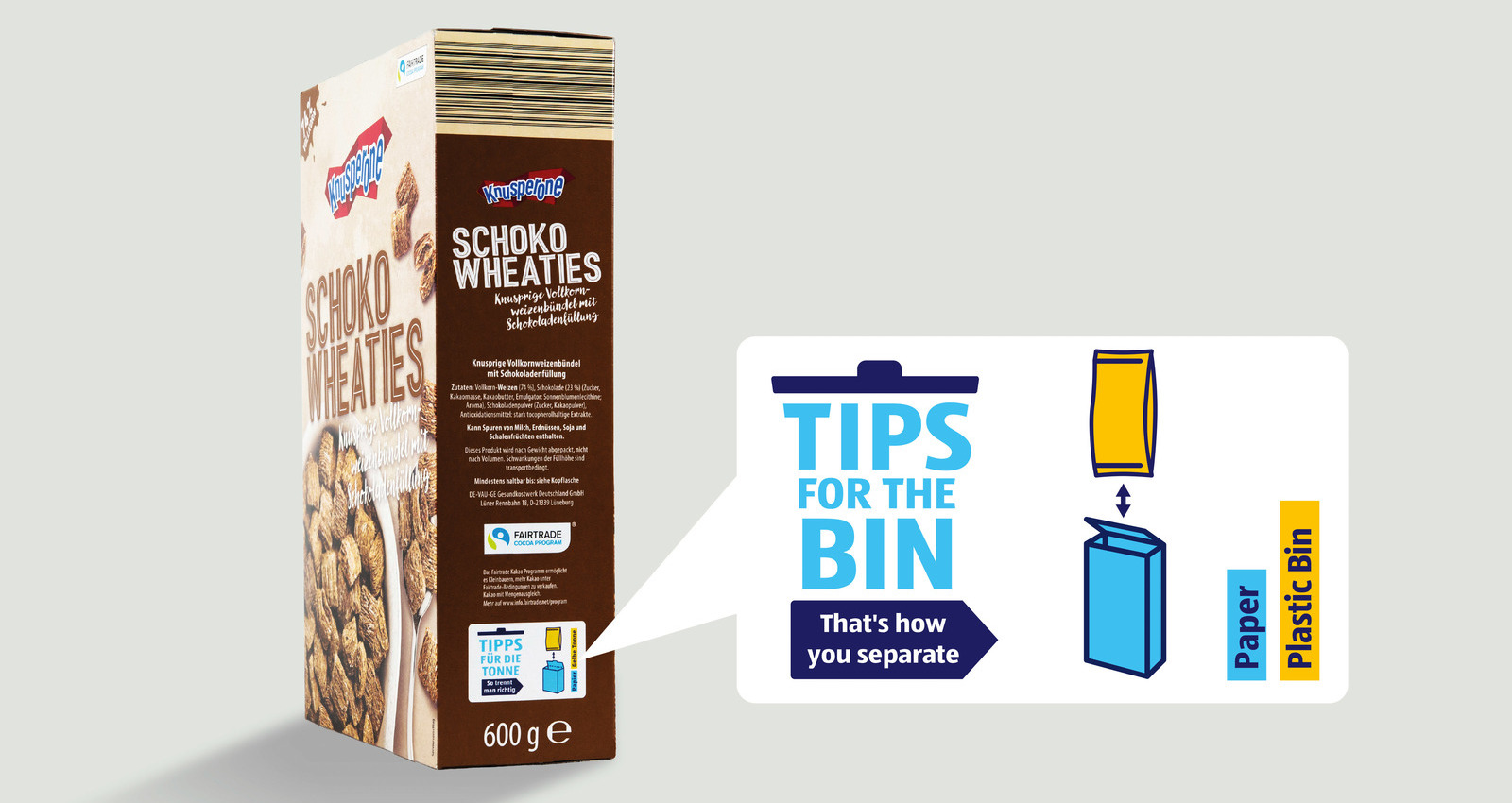 Tips for the bin
