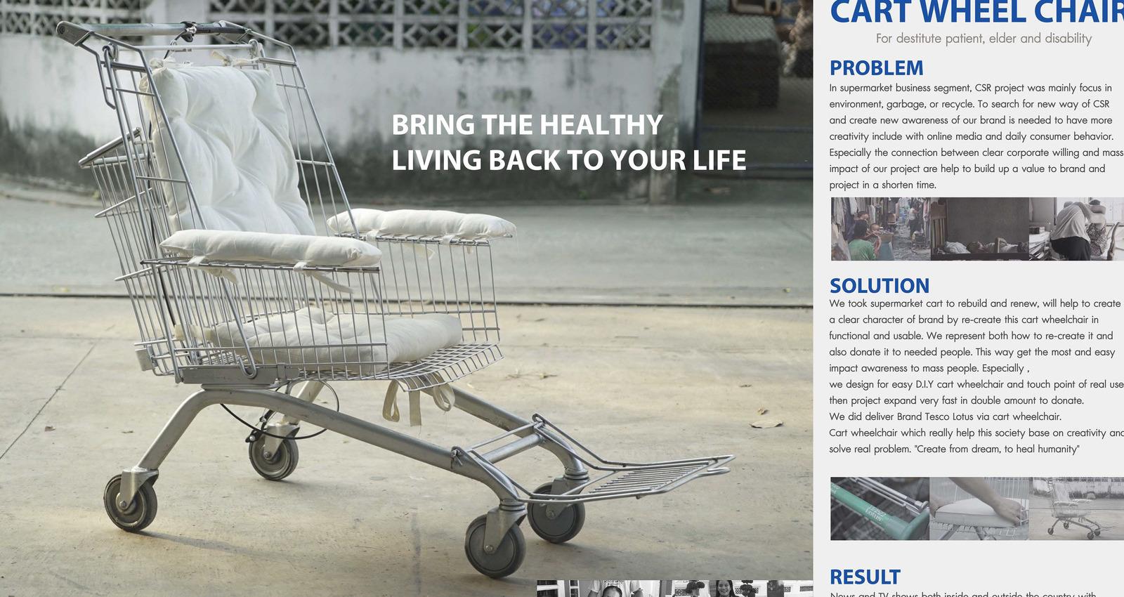 Cart Wheelchair
