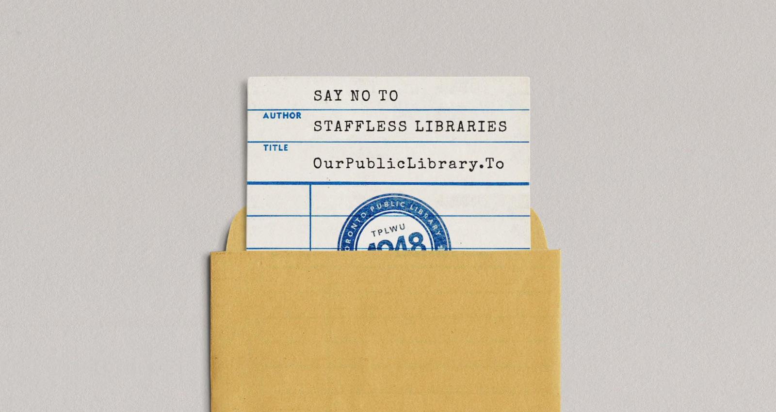 Staffless Libraries