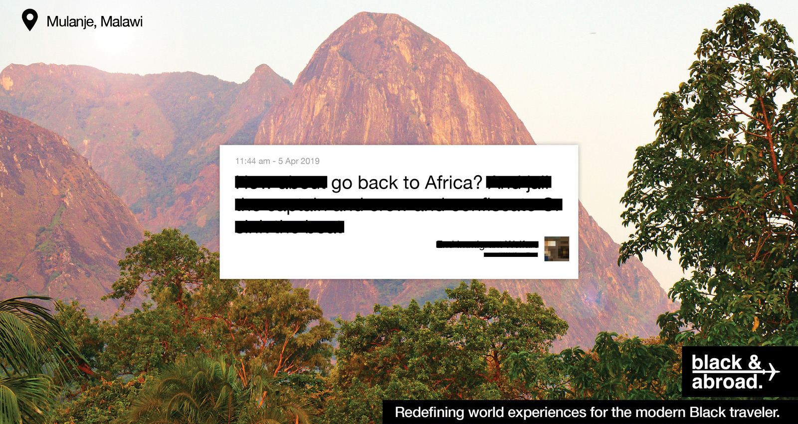 Go Back To Africa