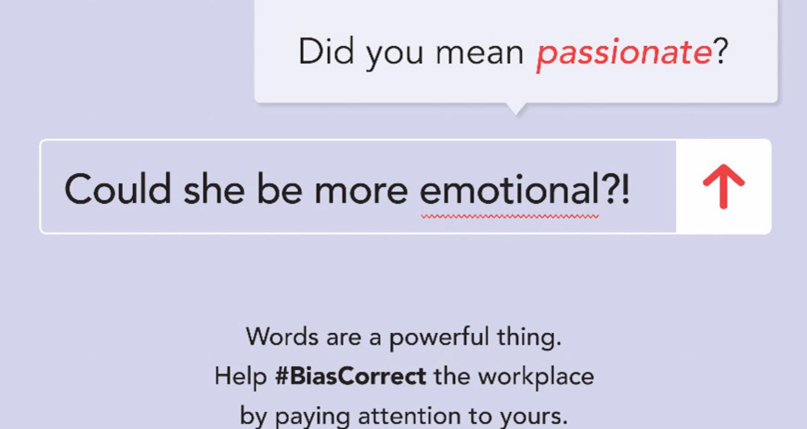 #BiasCorrect