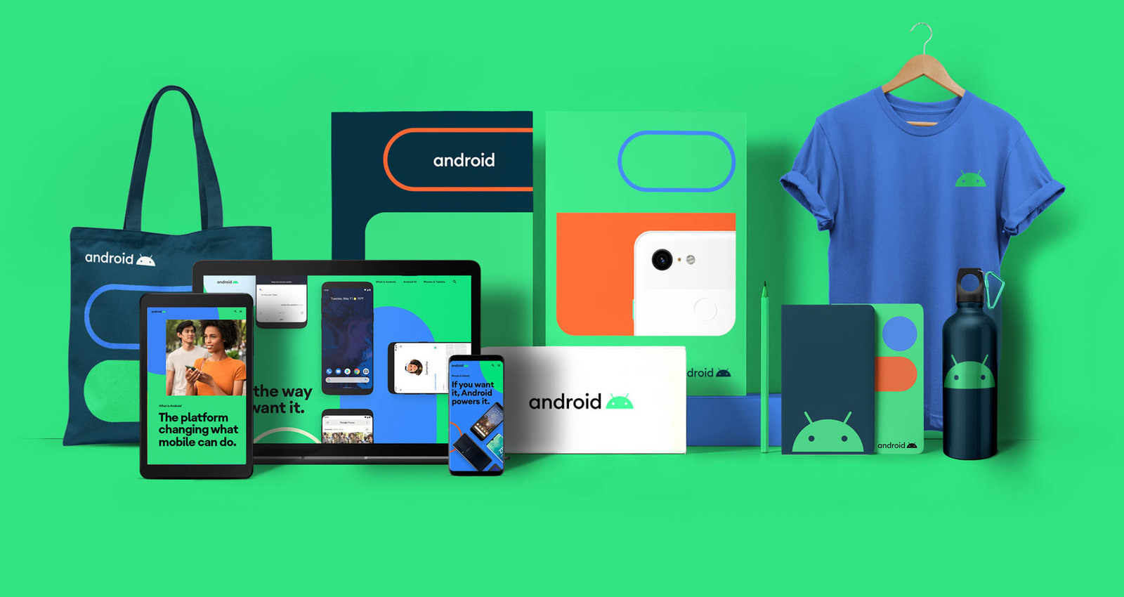 A brand refresh for the world's most popular OS.