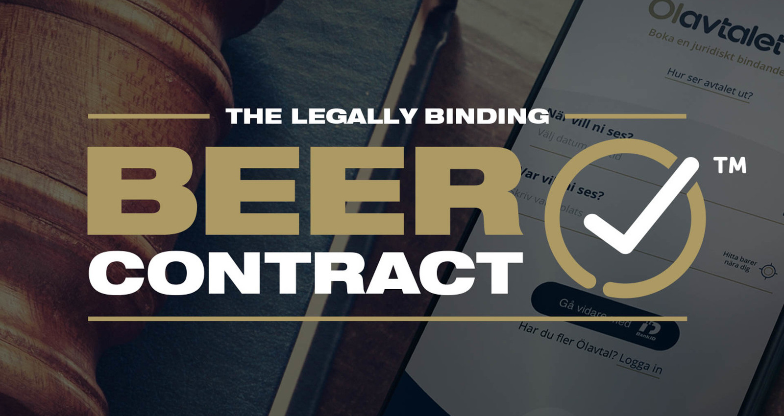 The Legally Binding Beer Contract