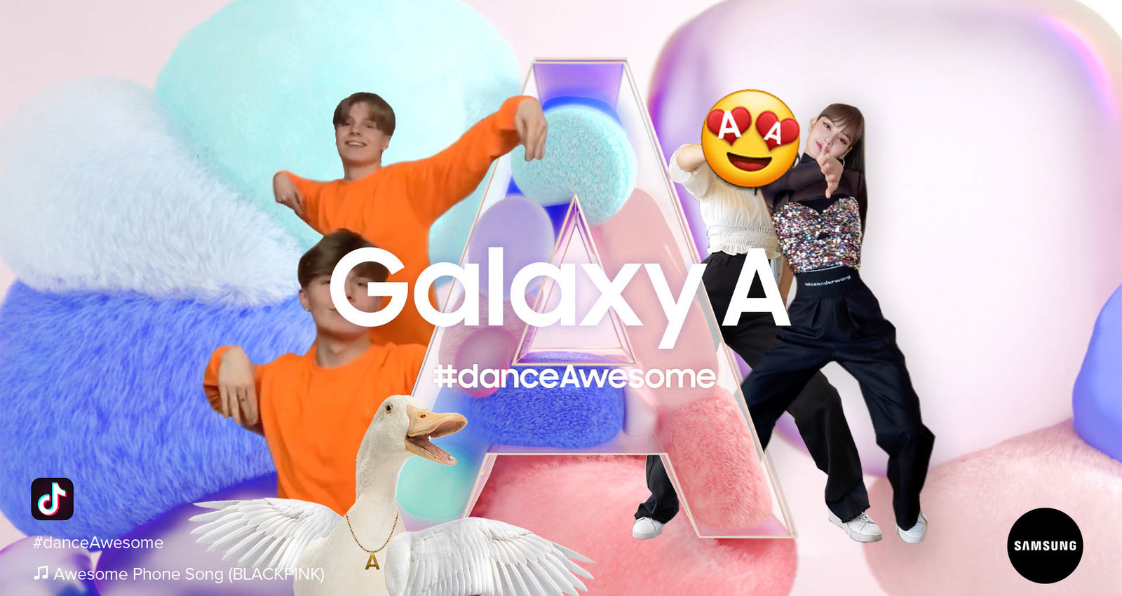 Samsung Galaxy A - #danceAwesome