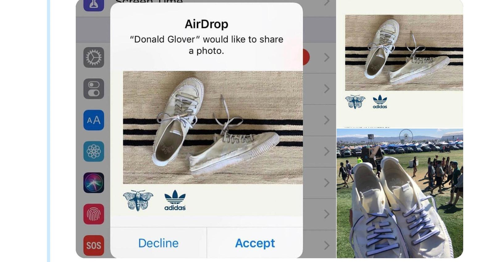 adidas Operation AirDrop