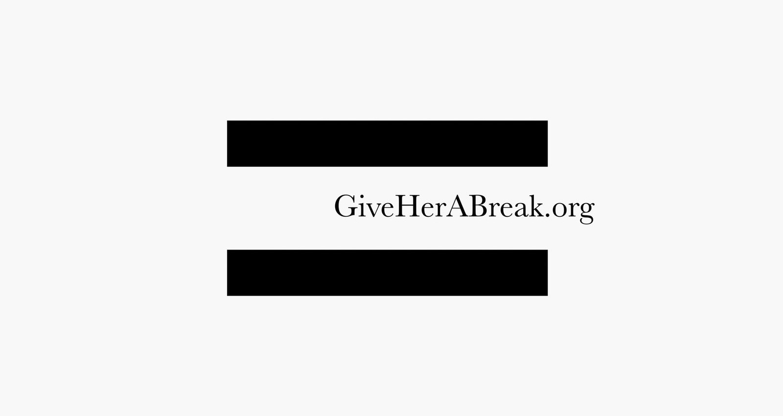 GiveHerABreak - Break The Oscars