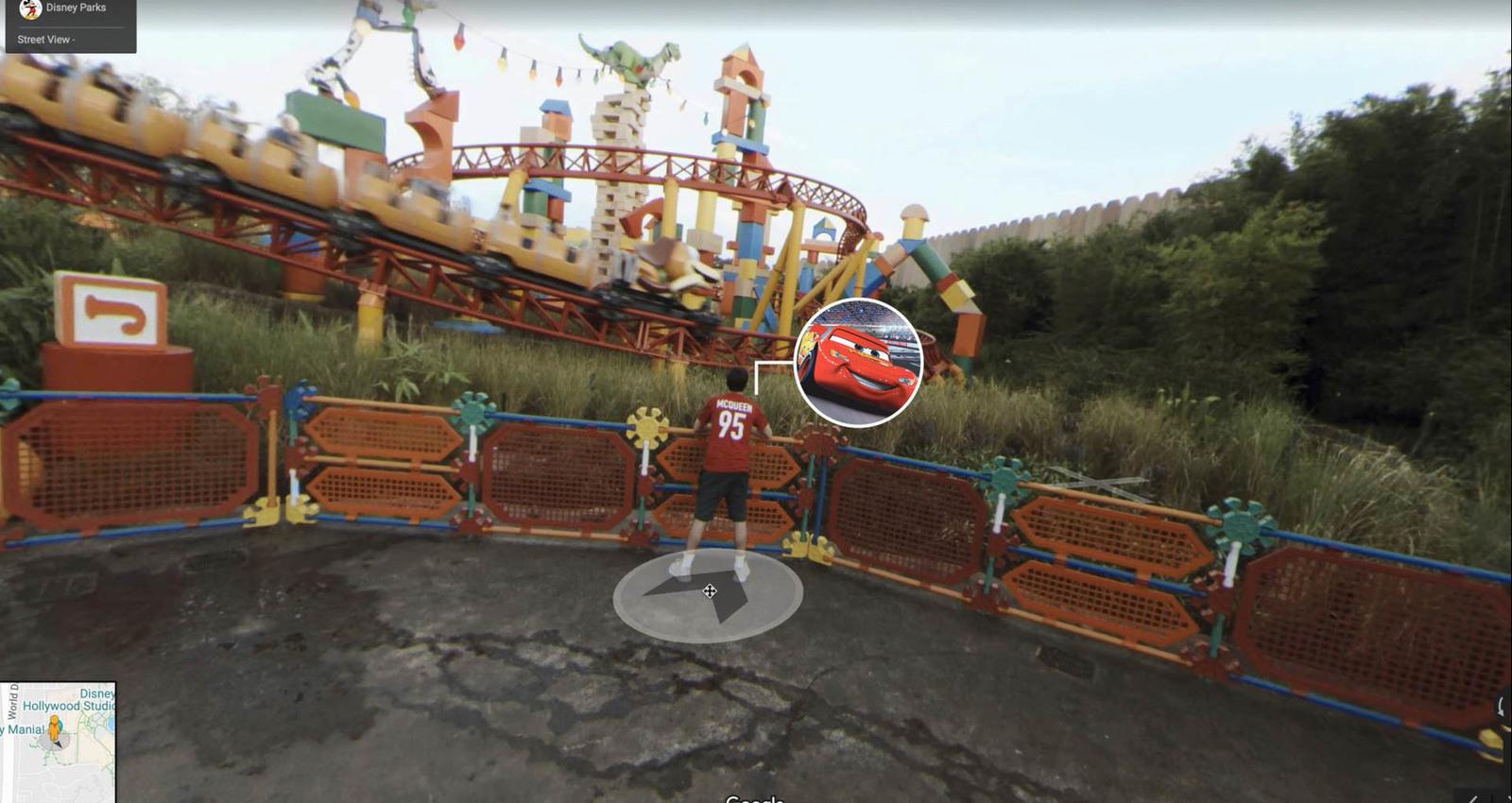 Pixar Street View