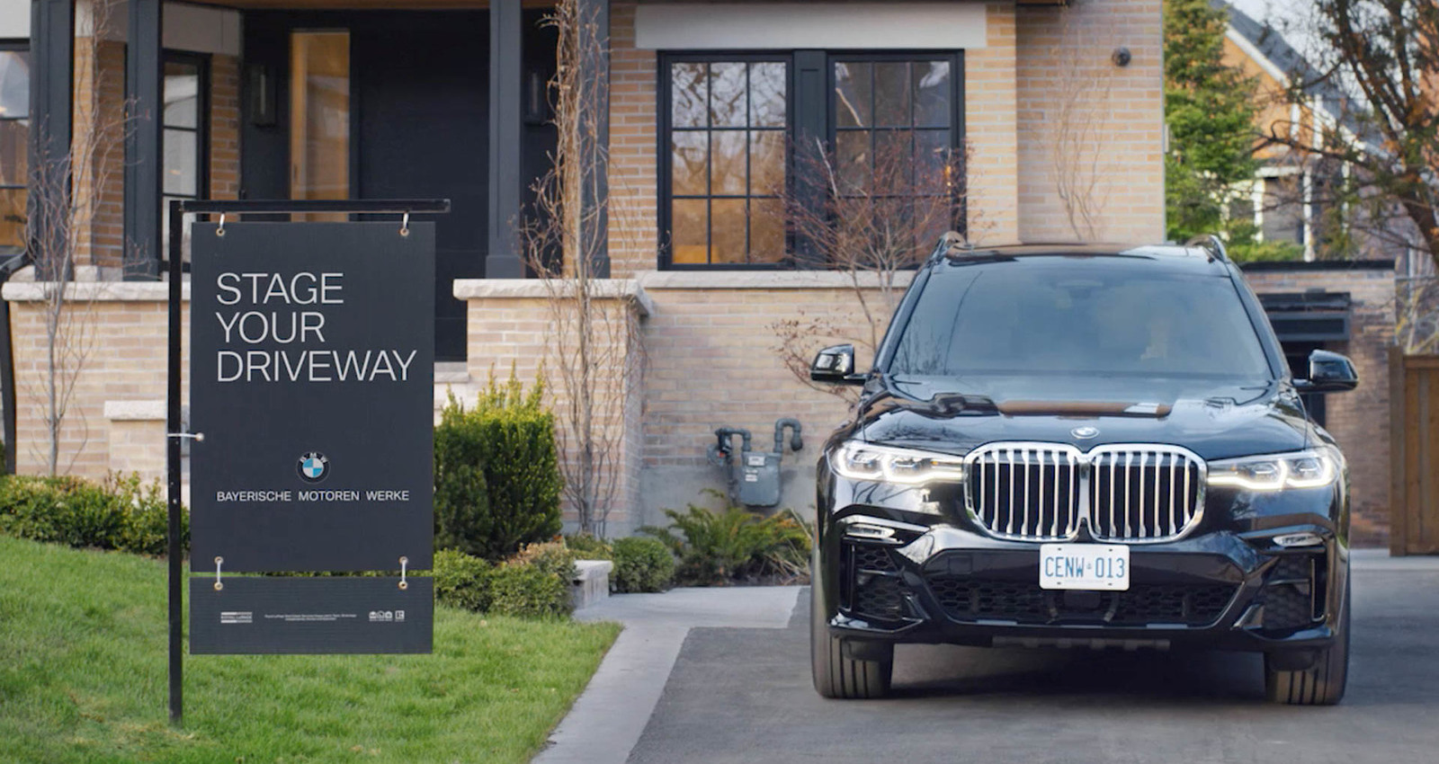 Stage Your Driveway
