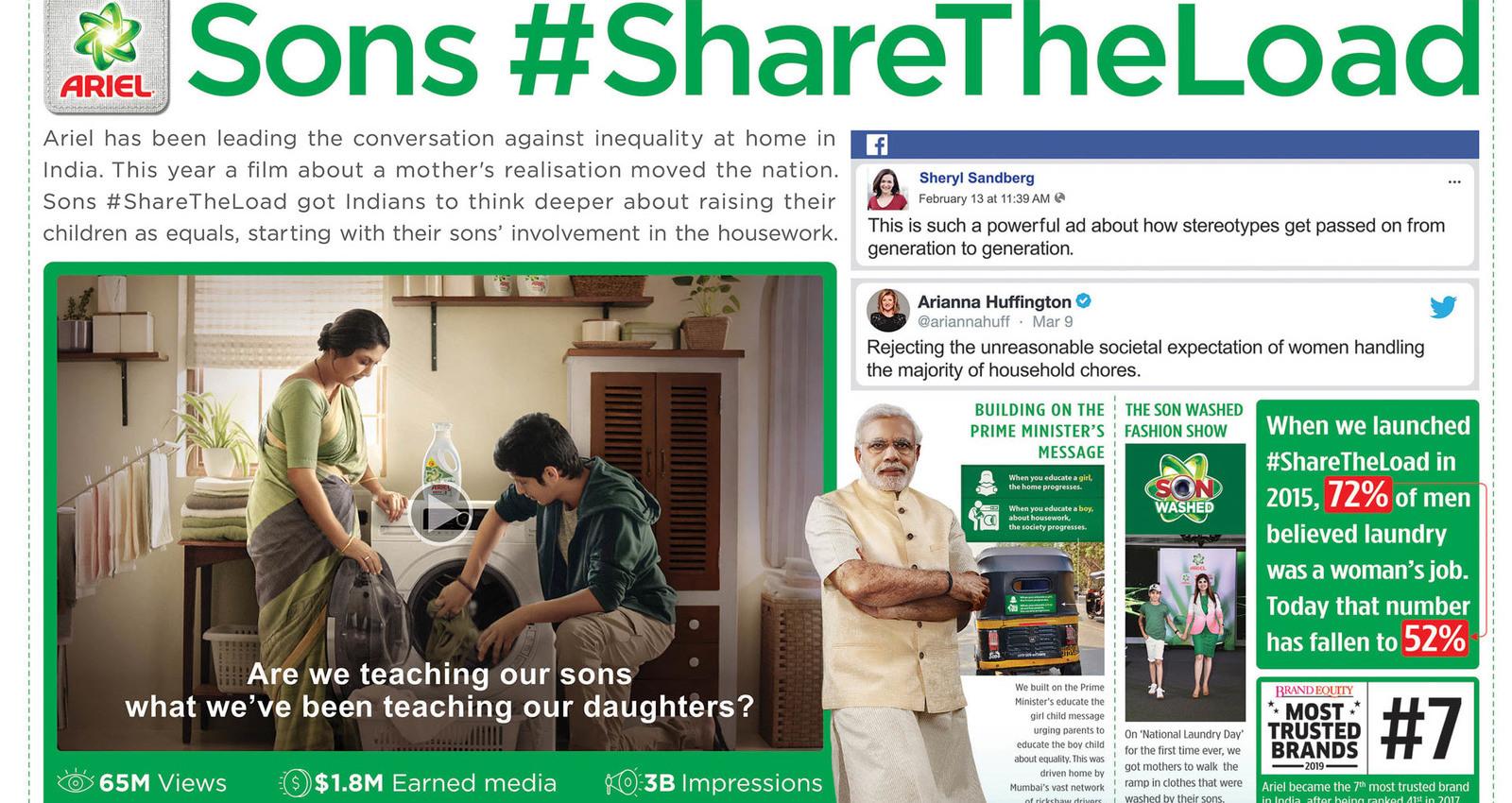 Sons #ShareTheLoad