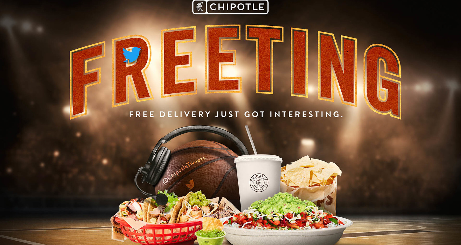 Chipotle Freeting Wins the Pro Basketball Finals