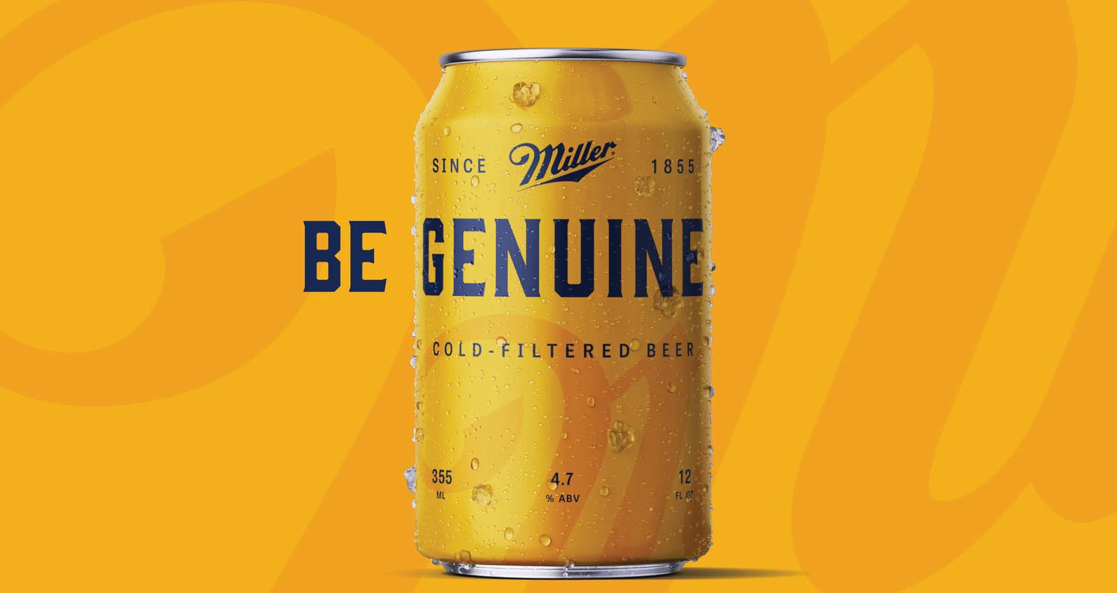 Miller Genuine - Beer for Genuine People