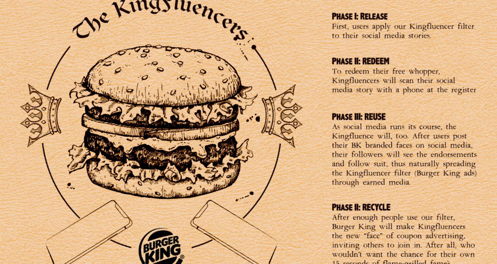 Burger Kingfluencers
