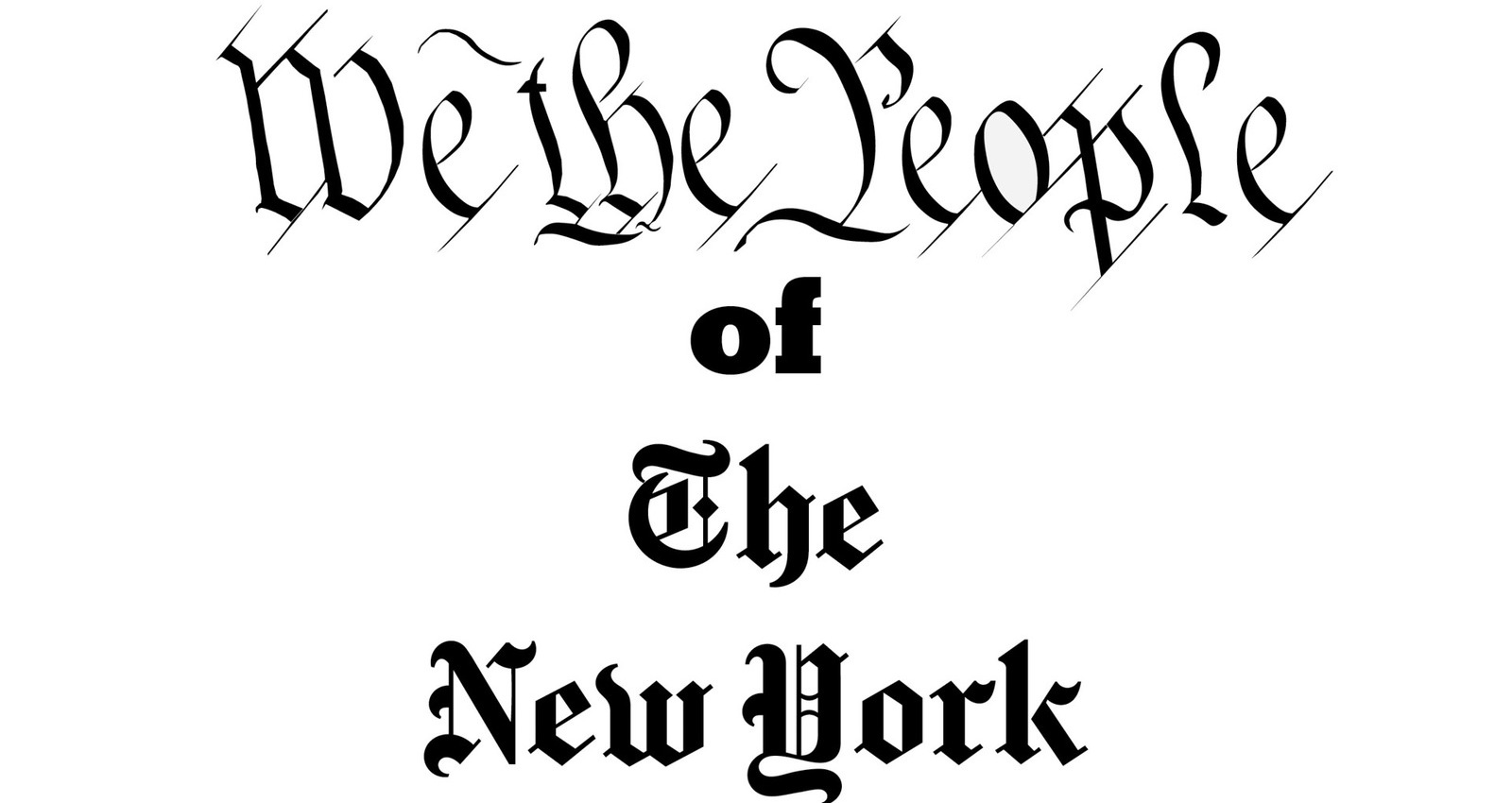 We The People of the New York Times