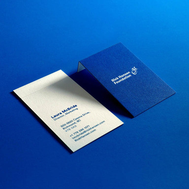 Barrier-Free Business Cards