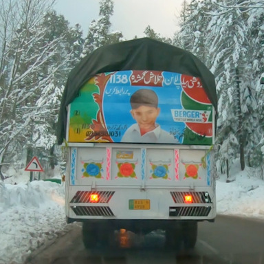Truck Art Childfinder