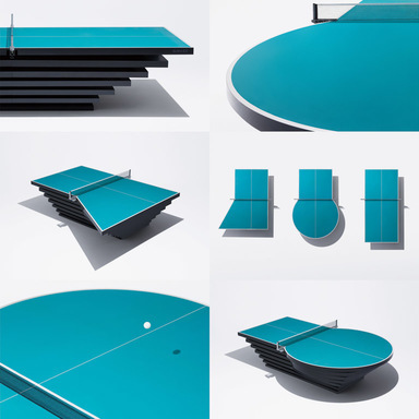 The Most Challenging Pingpong Table
