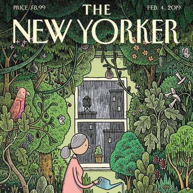Cover Artworks for The New Yorker