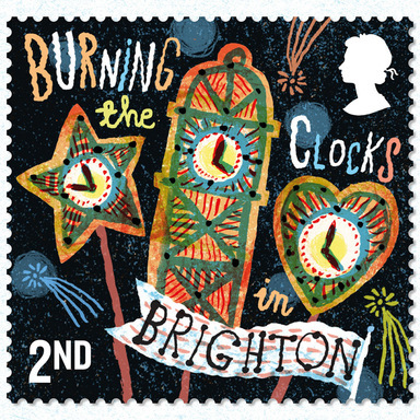 Royal Mail: Curious Customs stamps